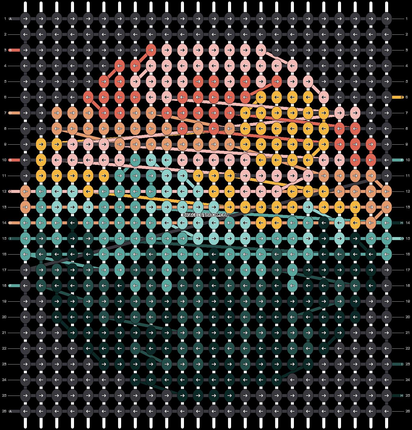 Alpha pattern #86238 pattern