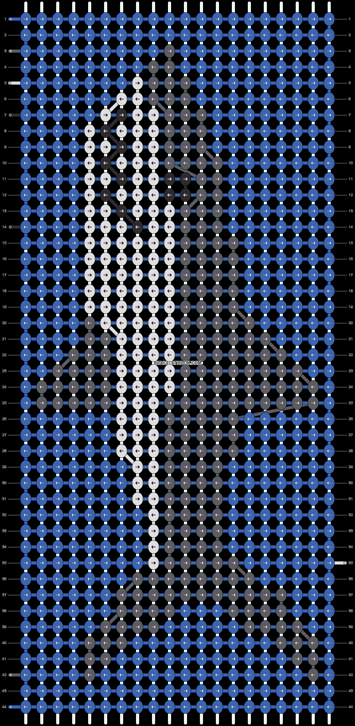 Alpha pattern #86242 pattern