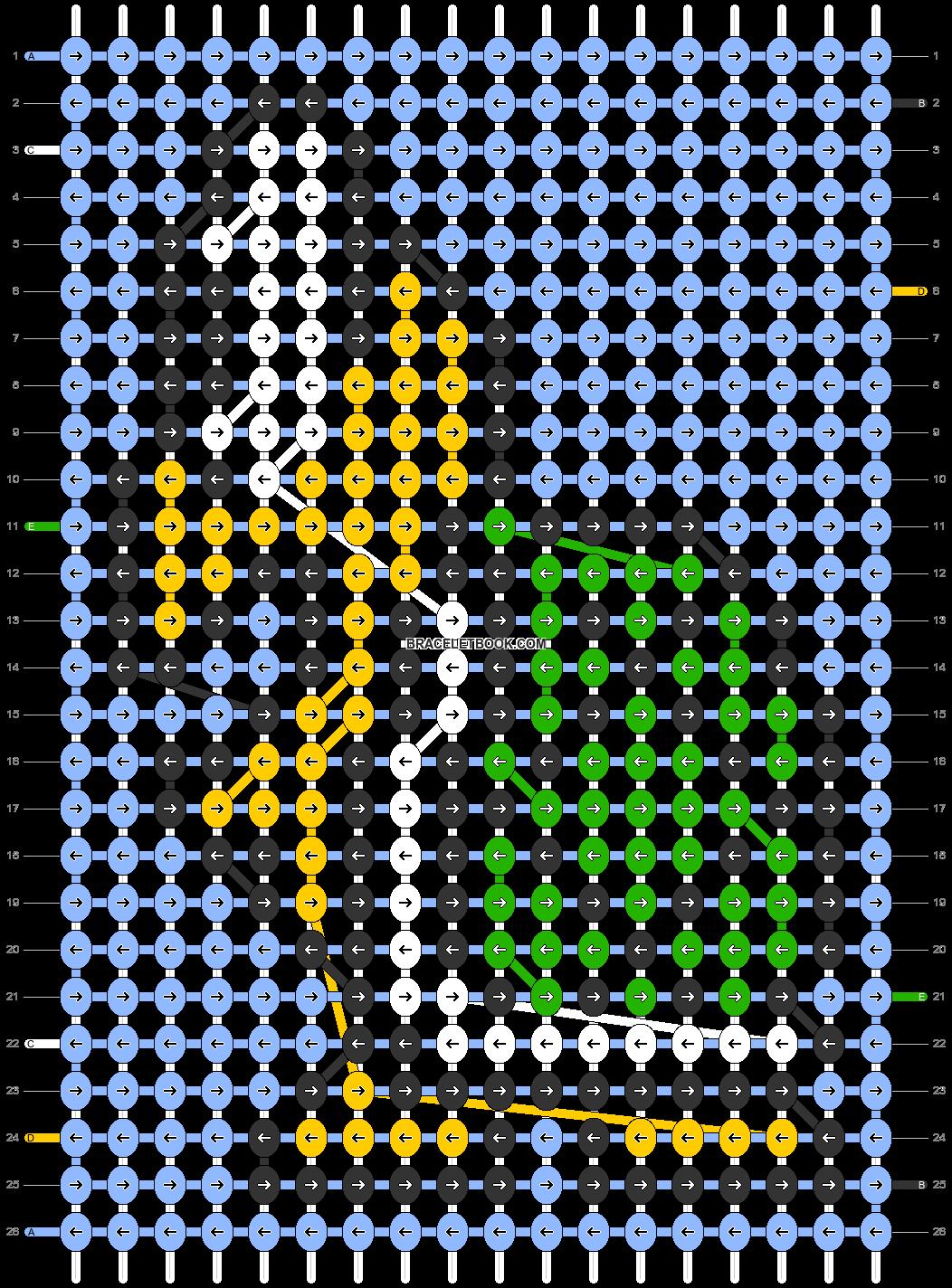 Alpha pattern #86258 pattern