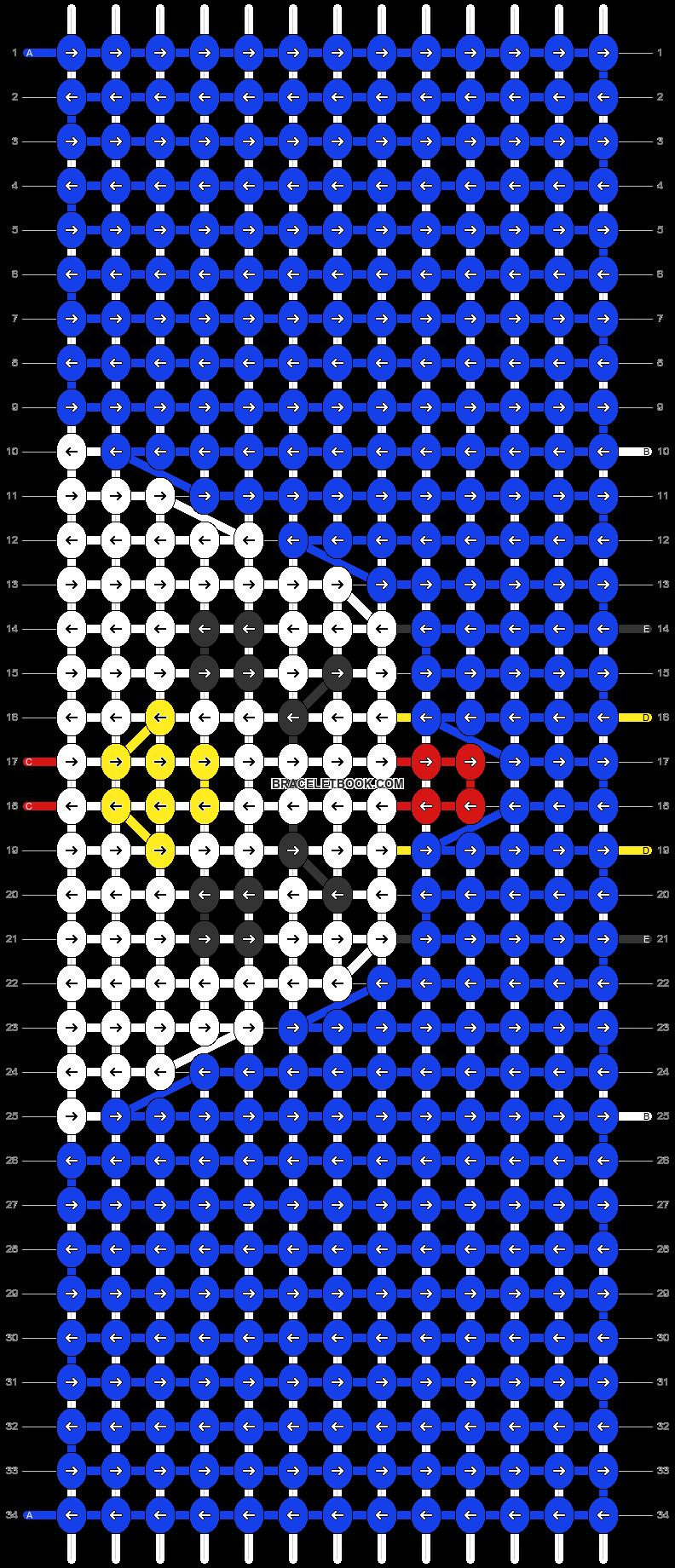 Alpha pattern #86263 pattern