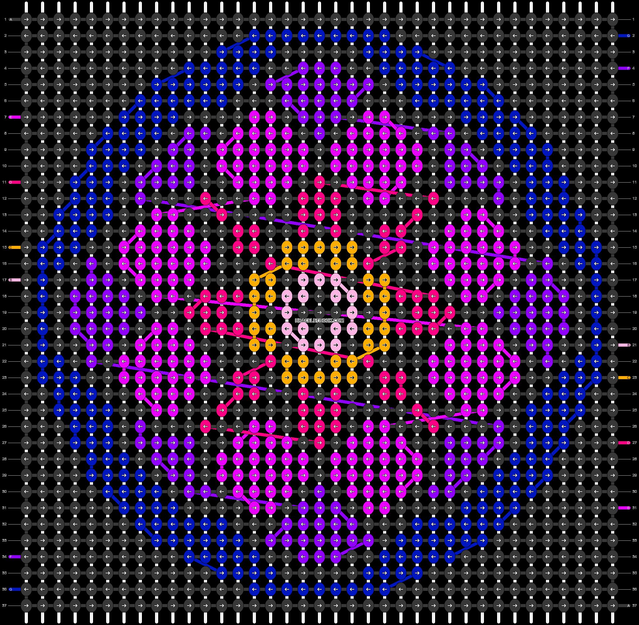 Alpha pattern #86265 pattern