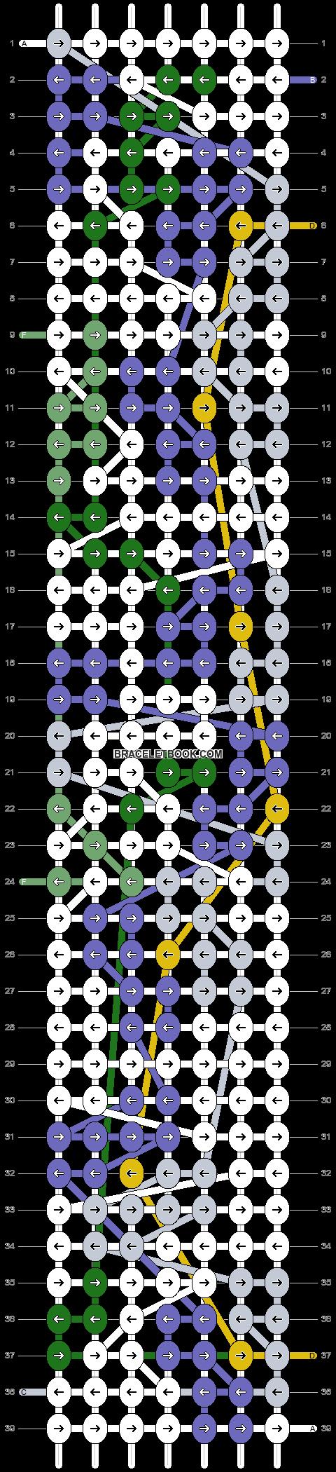 Alpha pattern #86266 pattern