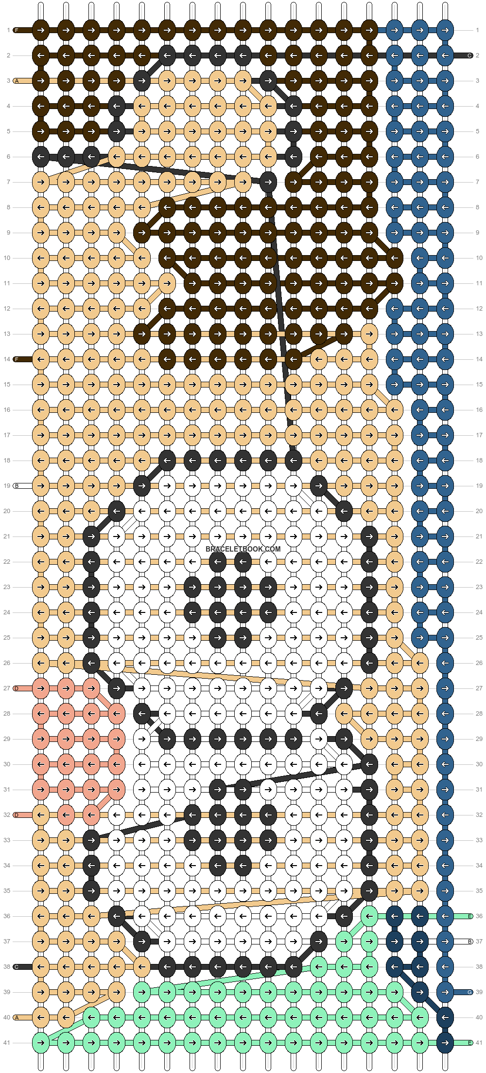 Alpha pattern #86267 pattern