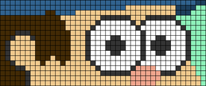 Alpha pattern #86267