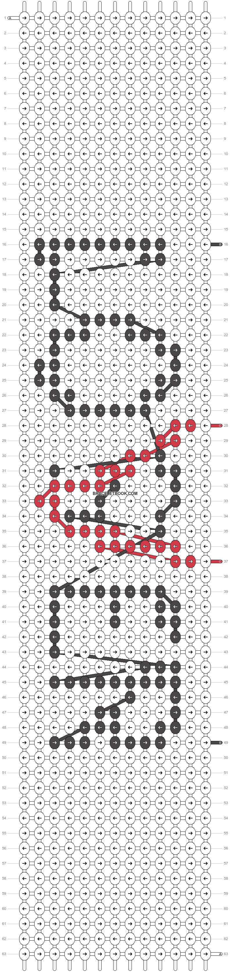 Alpha pattern #86279 pattern