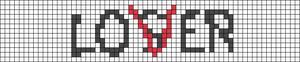 Alpha pattern #86279