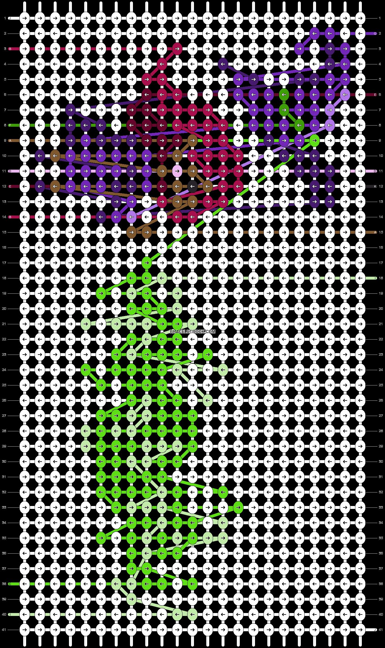 Alpha pattern #86312 pattern