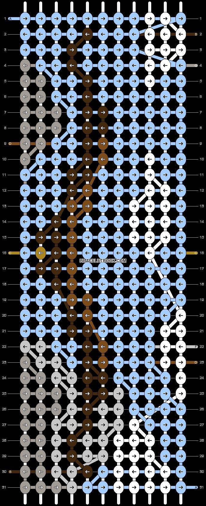 Alpha pattern #86315 pattern