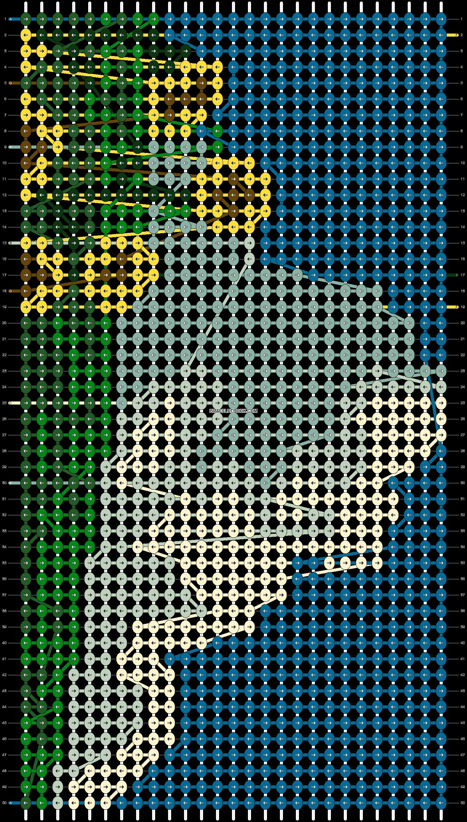 Alpha pattern #86316 pattern