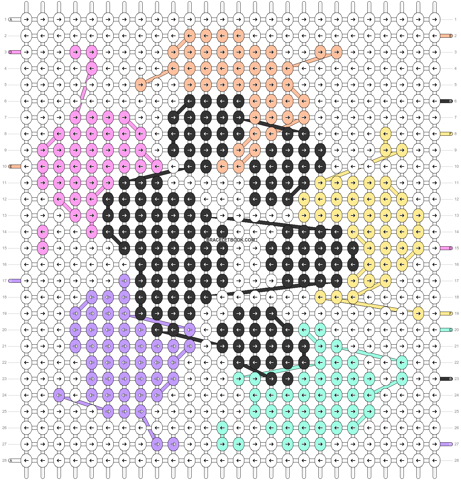 Alpha pattern #86376 pattern
