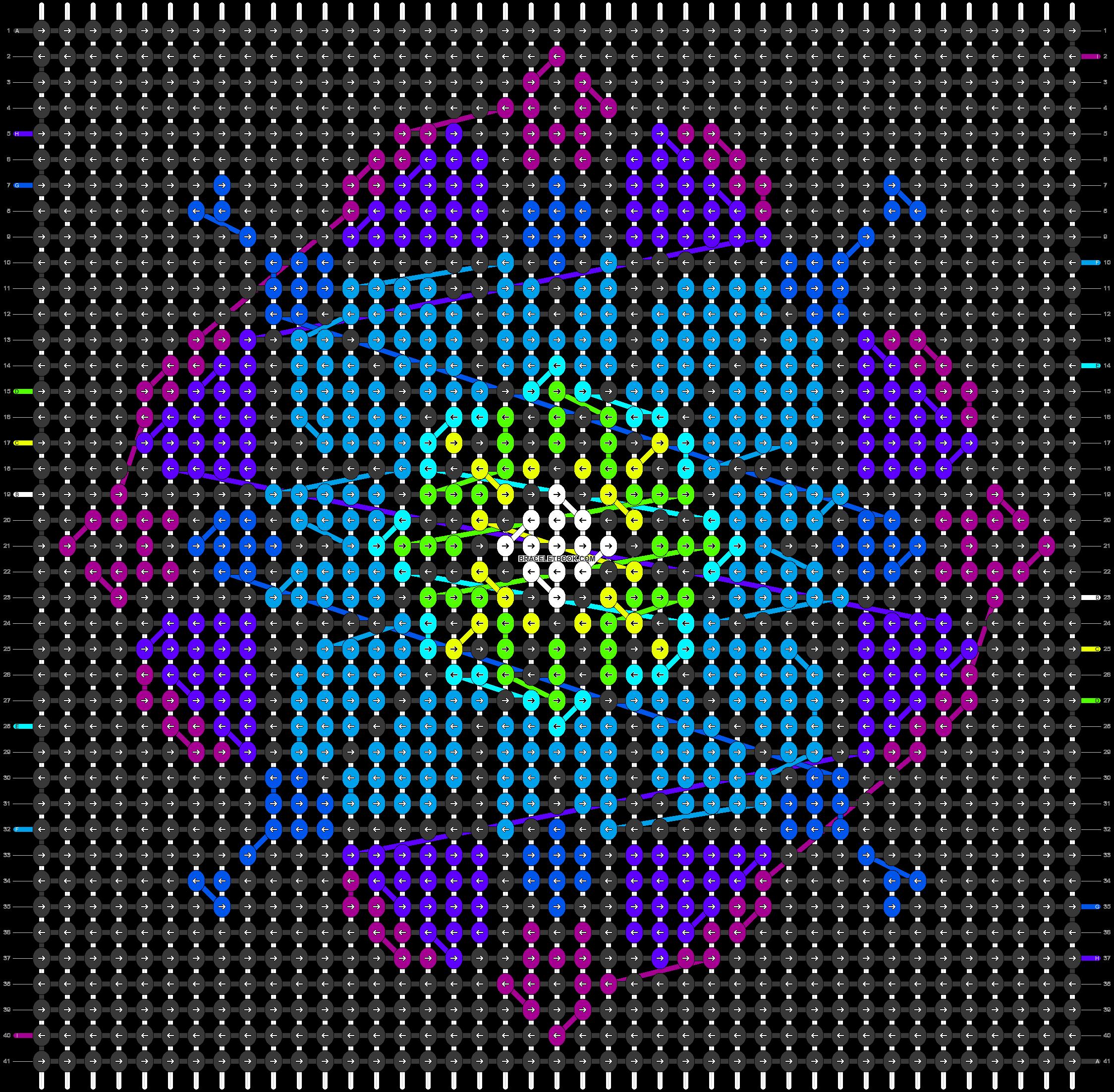 Alpha pattern #86404 pattern