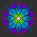 Alpha pattern #86404