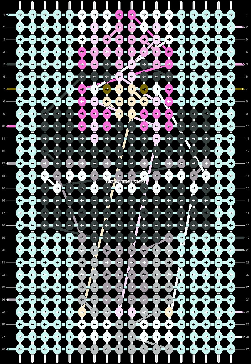 Alpha pattern #86405 pattern