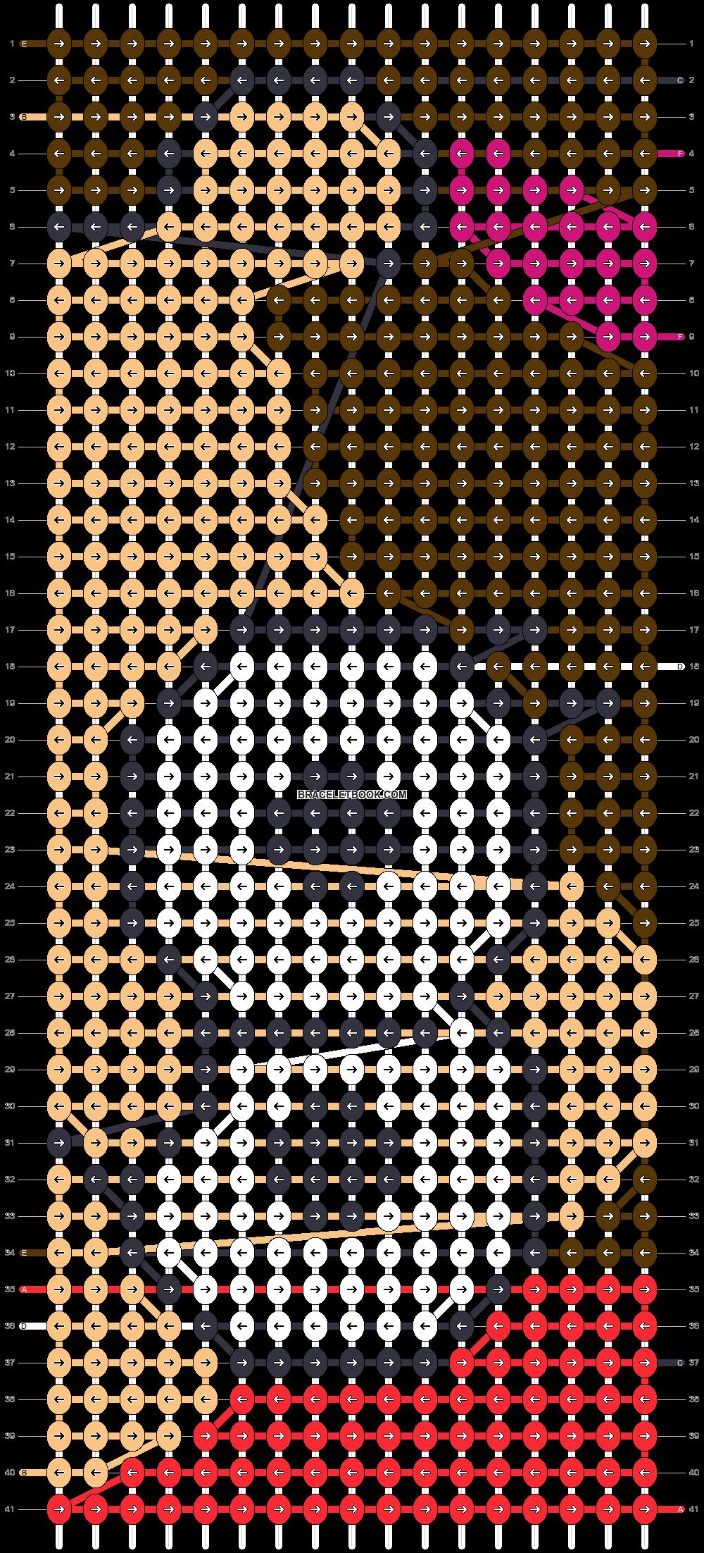 Alpha pattern #86406 pattern