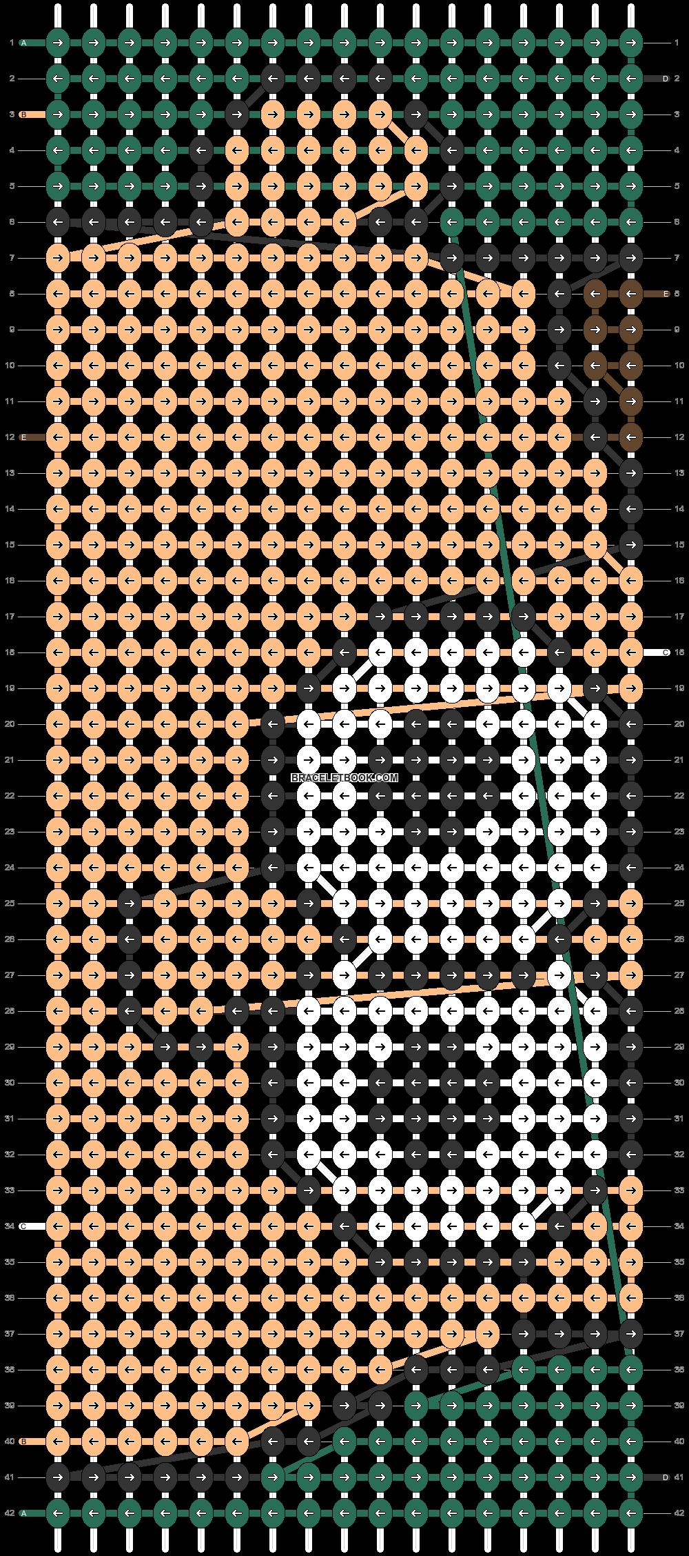 Alpha pattern #86409 pattern