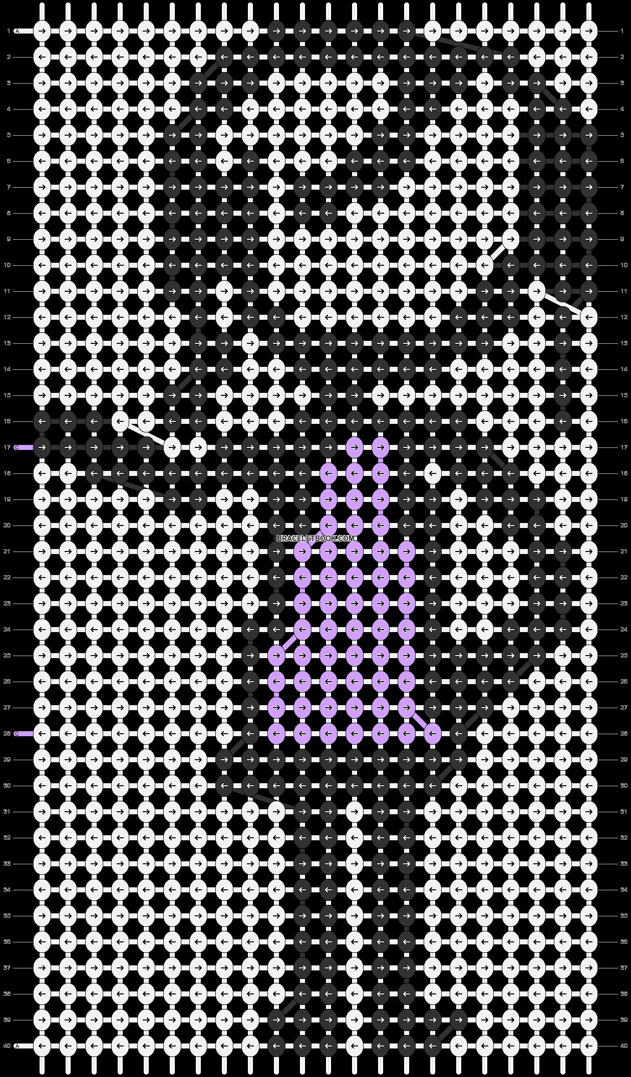 Alpha pattern #86413 pattern