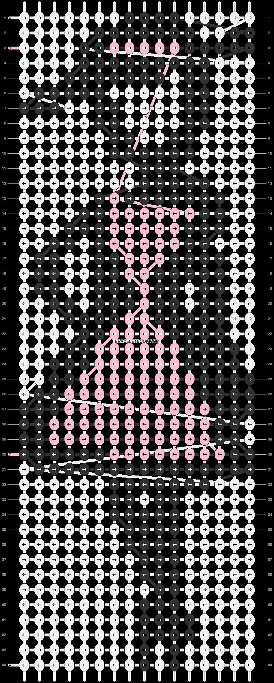 Alpha pattern #86414 pattern