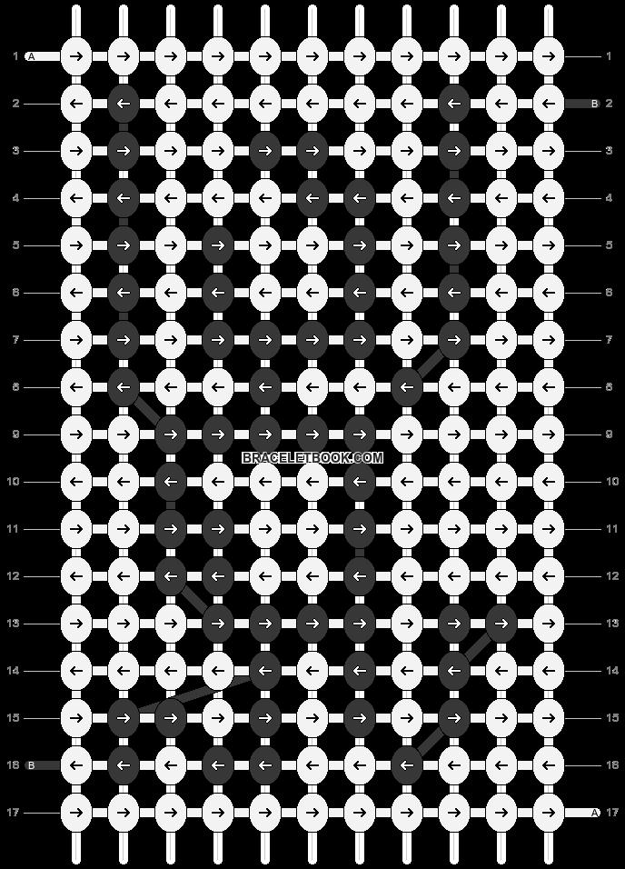 Alpha pattern #86421 pattern