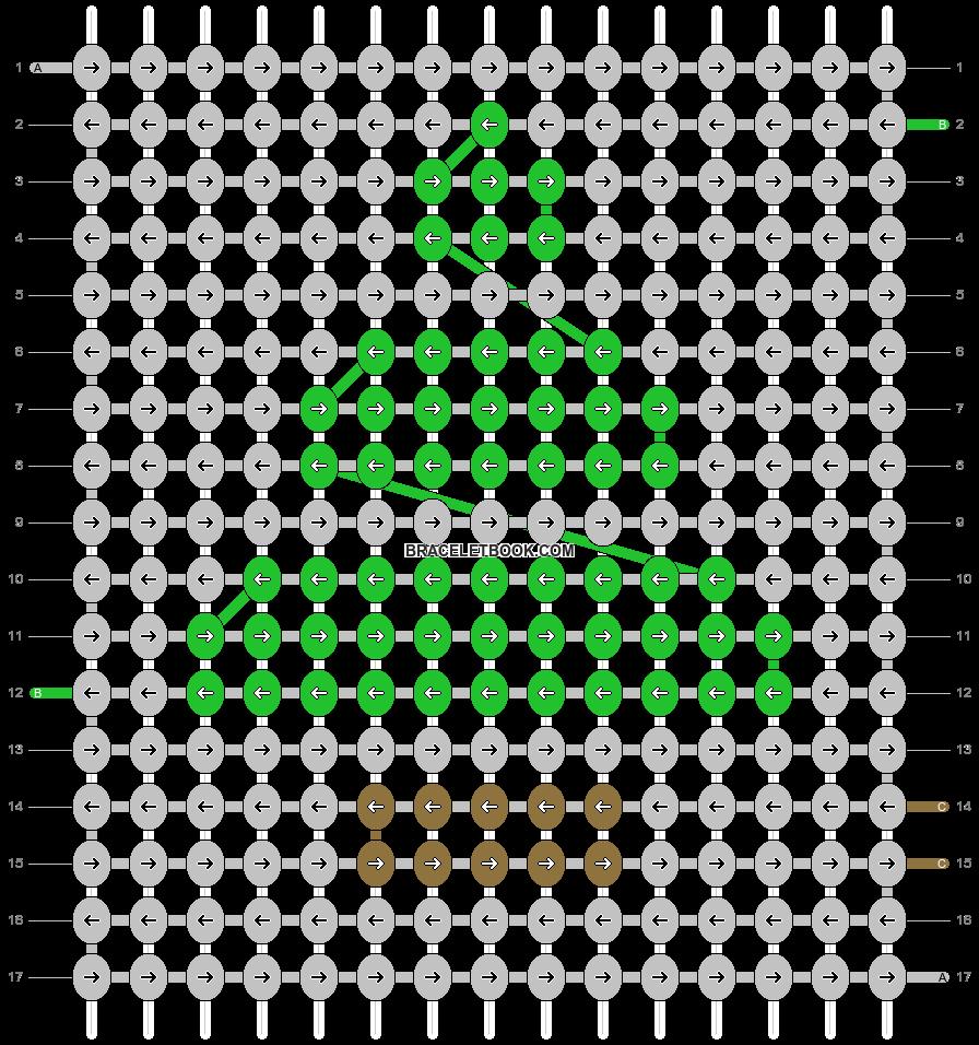 Alpha pattern #86432 pattern