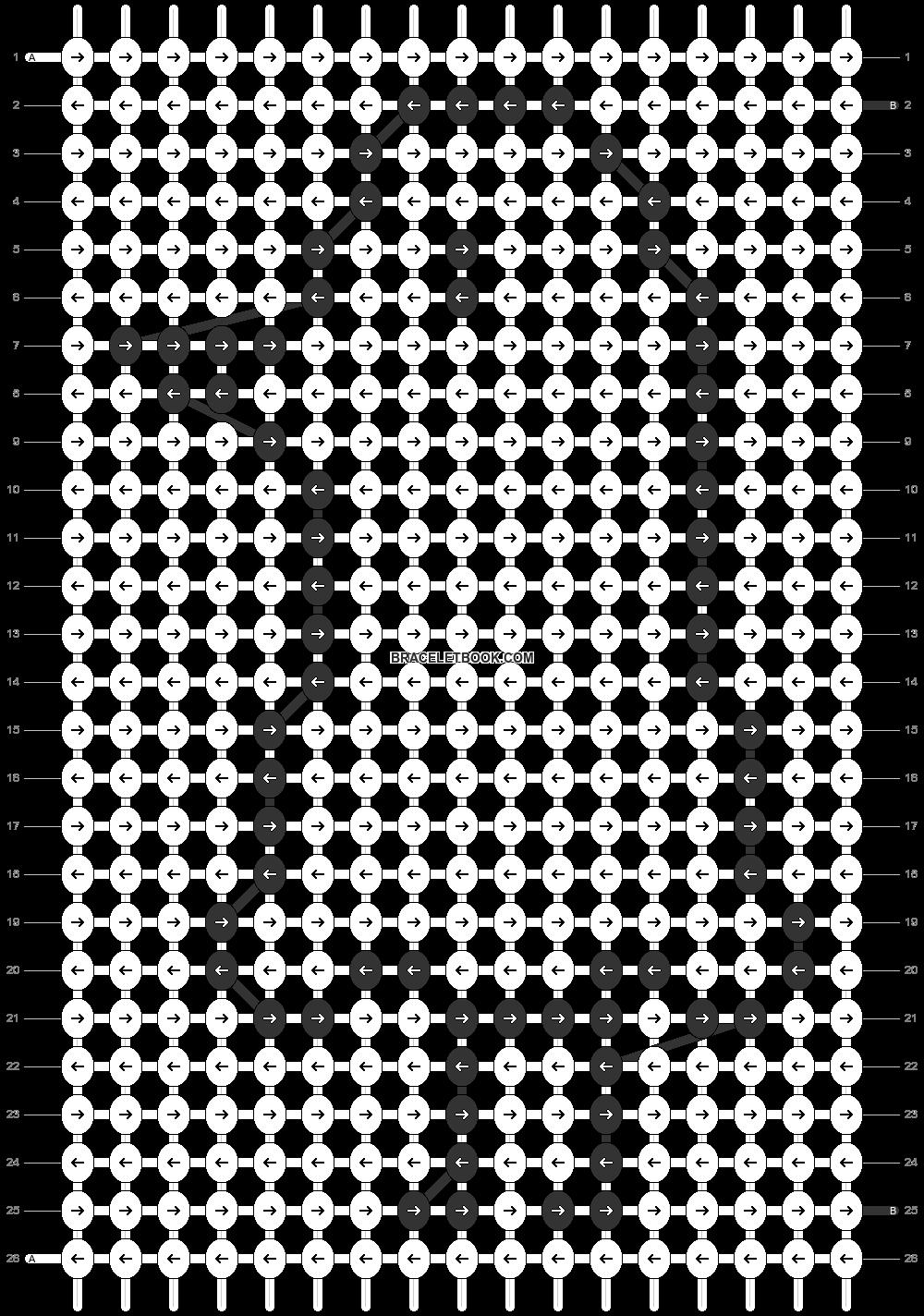 Alpha pattern #86436 pattern