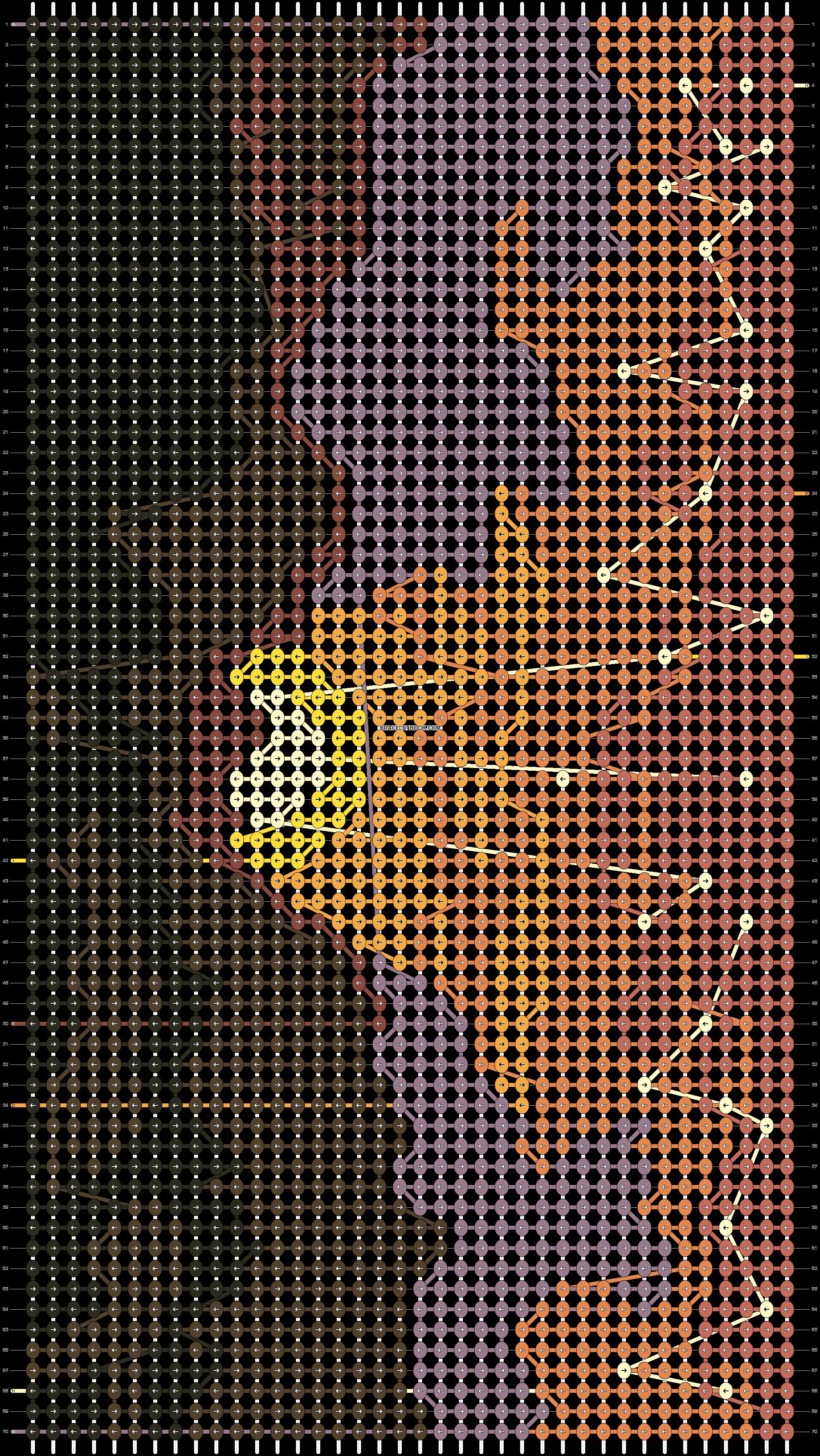 Alpha pattern #86452 pattern
