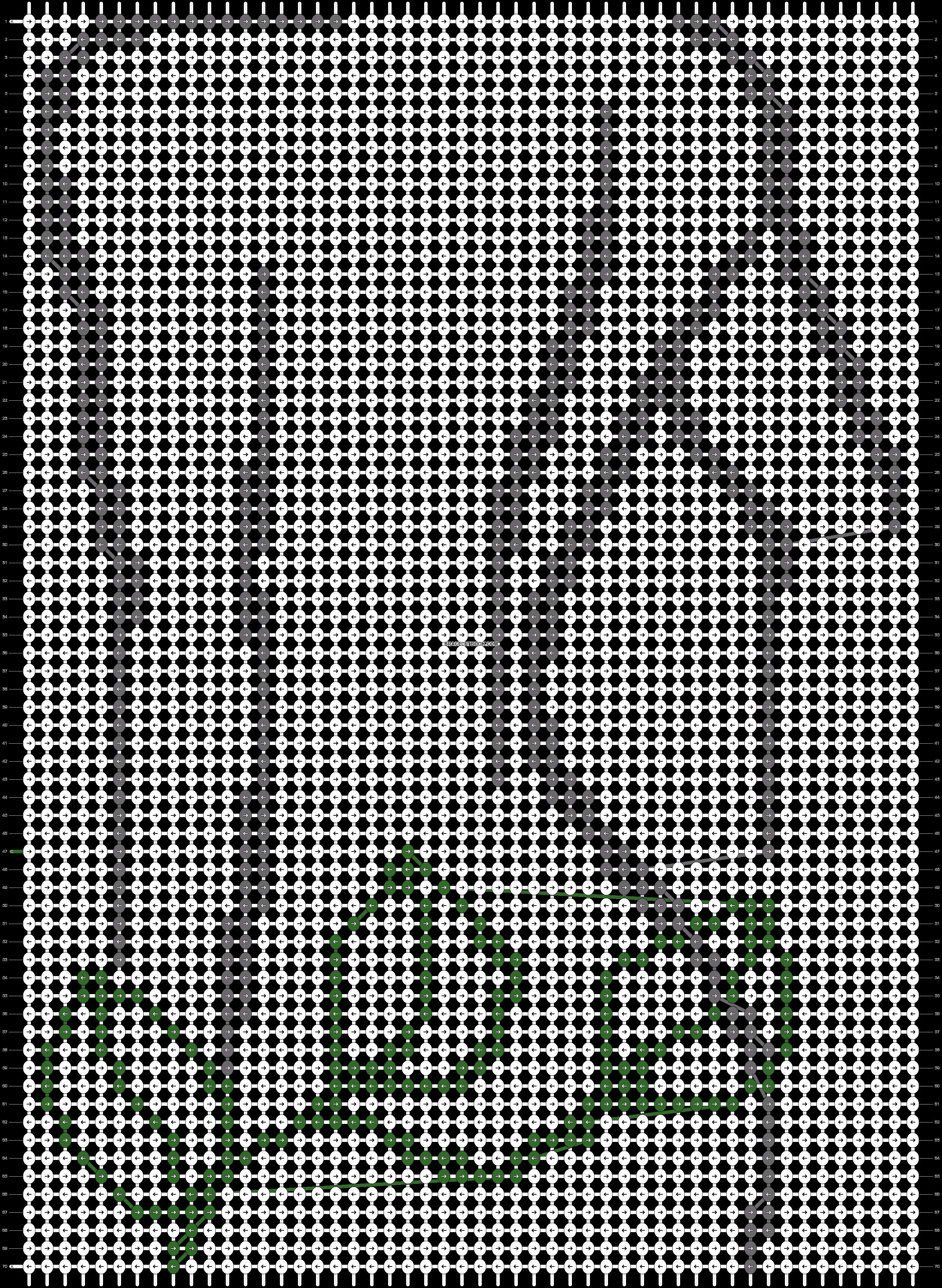 Alpha pattern #86453 pattern