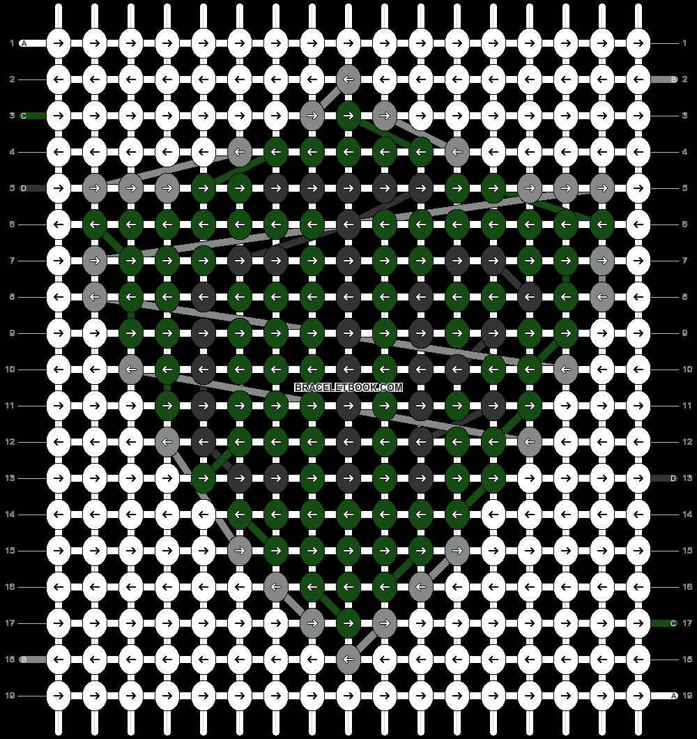 Alpha pattern #86462 pattern