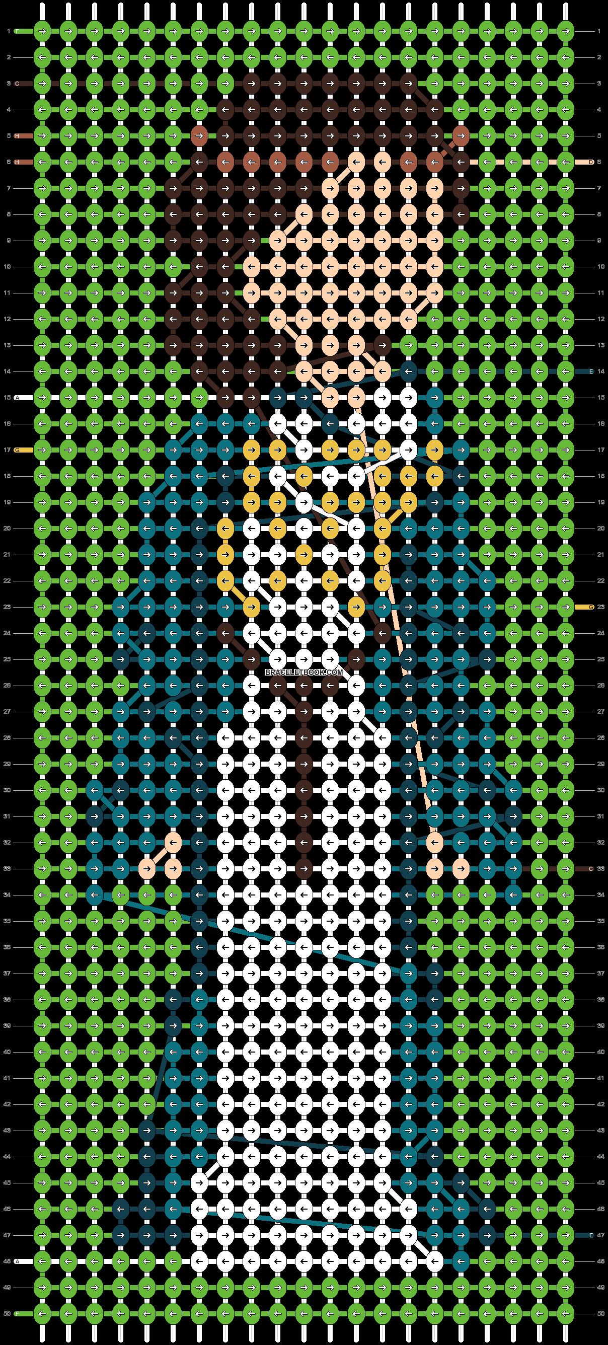 Alpha pattern #86505 pattern