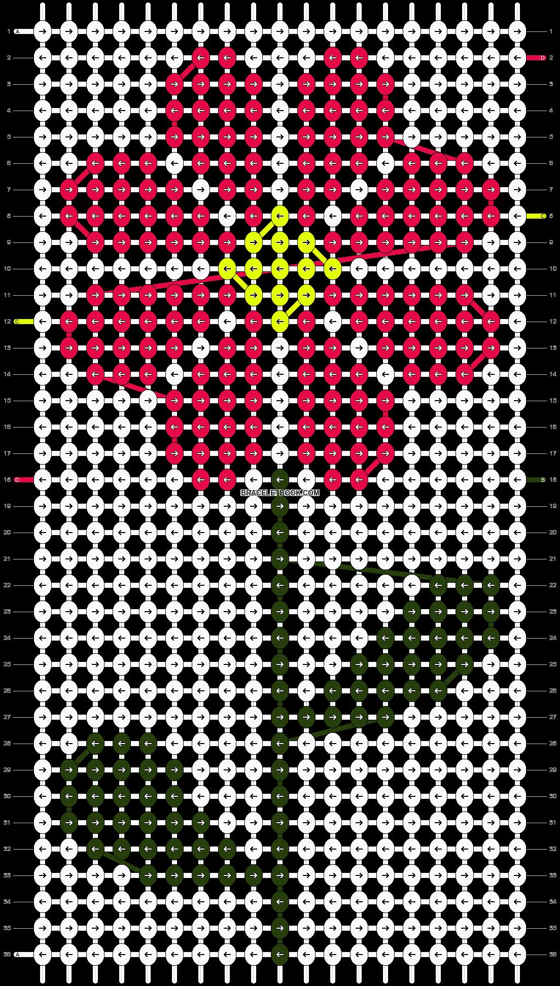 Alpha pattern #86507 pattern