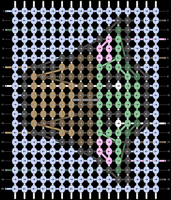 Alpha pattern #86526 pattern