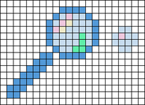 Alpha pattern #86531