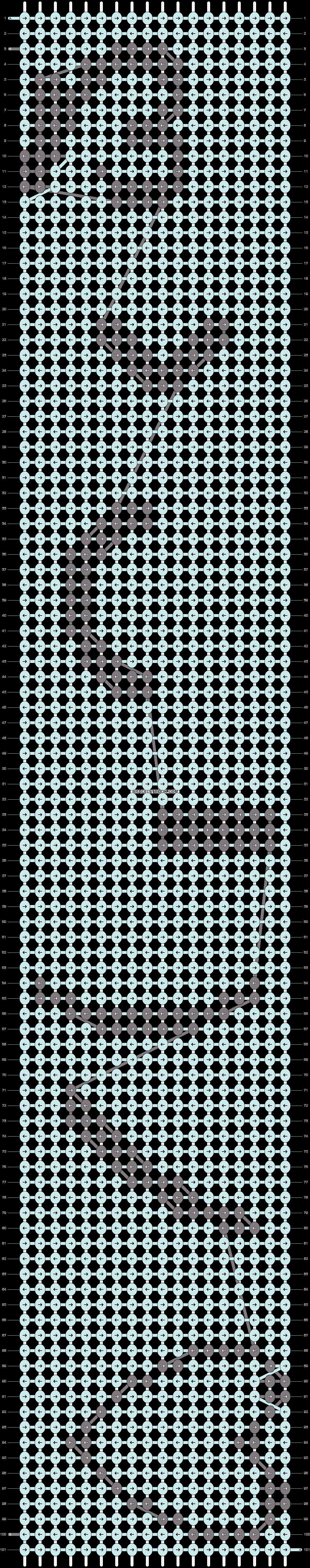 Alpha pattern #86539 pattern