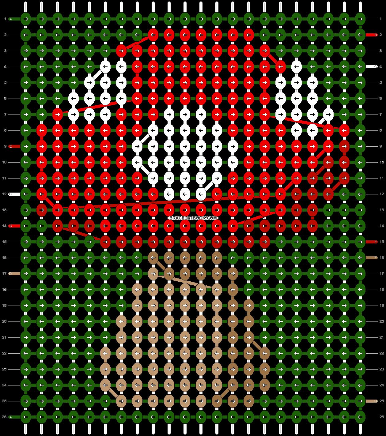 Alpha pattern #86553 pattern