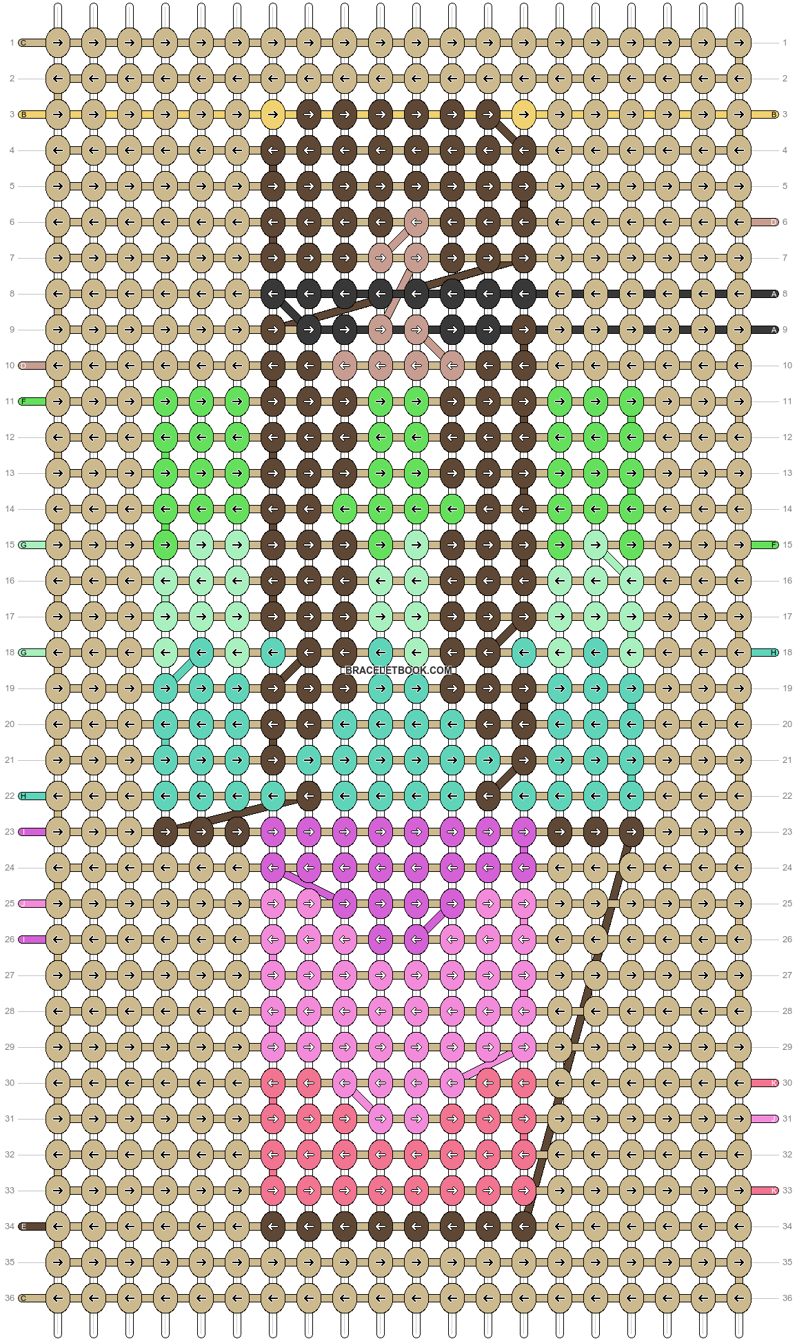 Alpha pattern #86593 pattern
