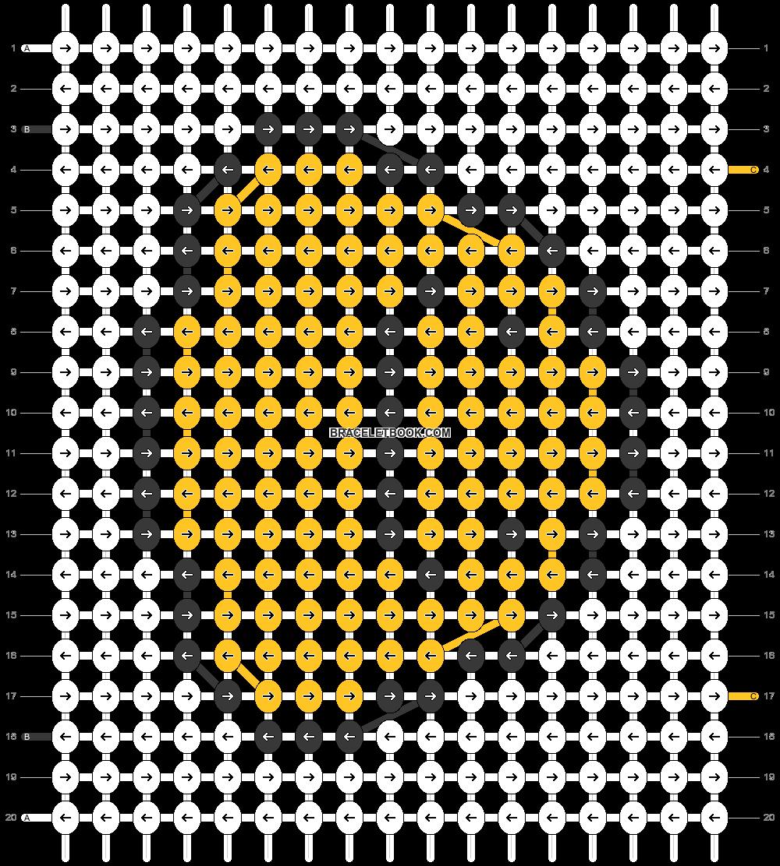 Alpha pattern #86610 pattern