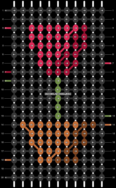 Alpha pattern #86621 pattern