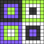 Alpha pattern #86624