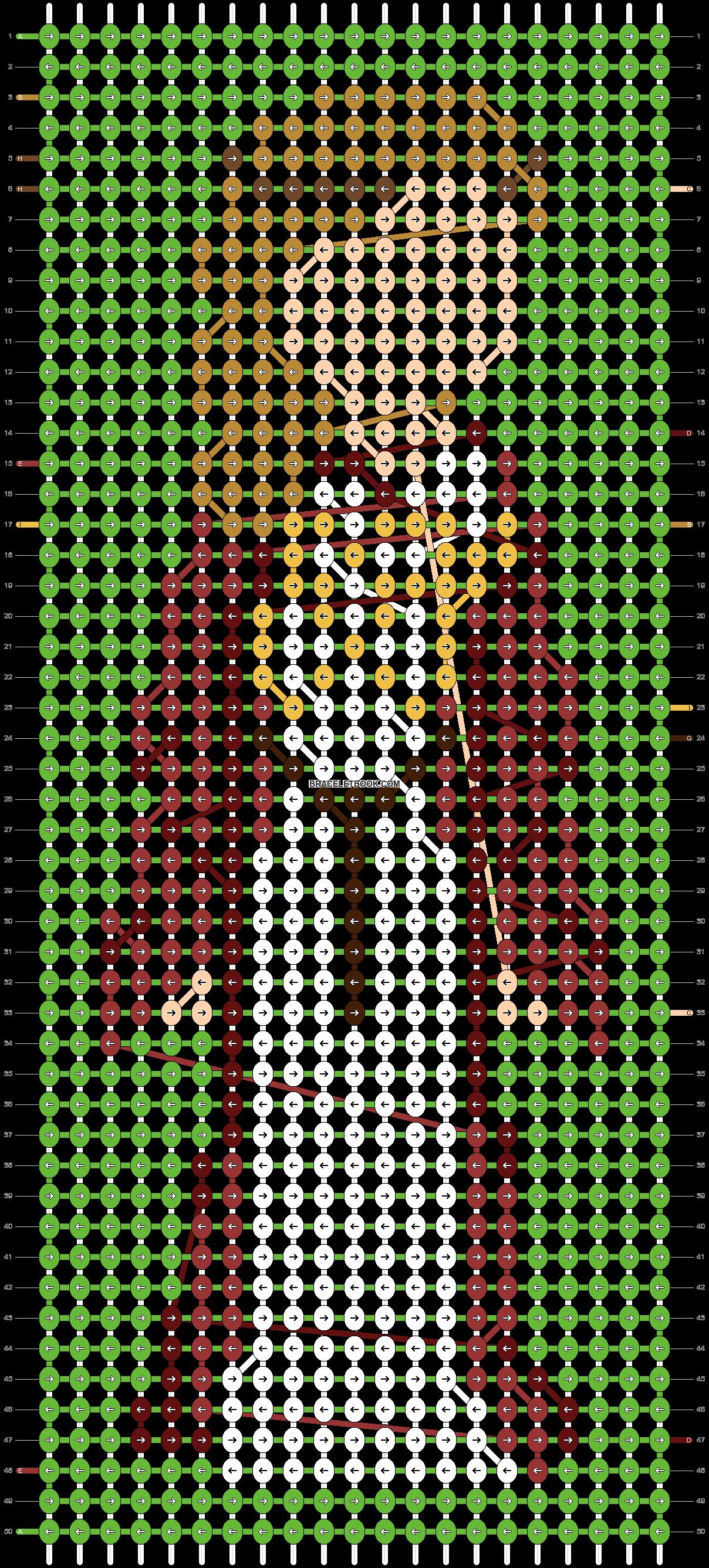 Alpha pattern #86639 pattern