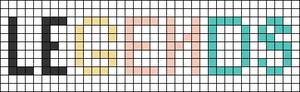 Alpha pattern #86674