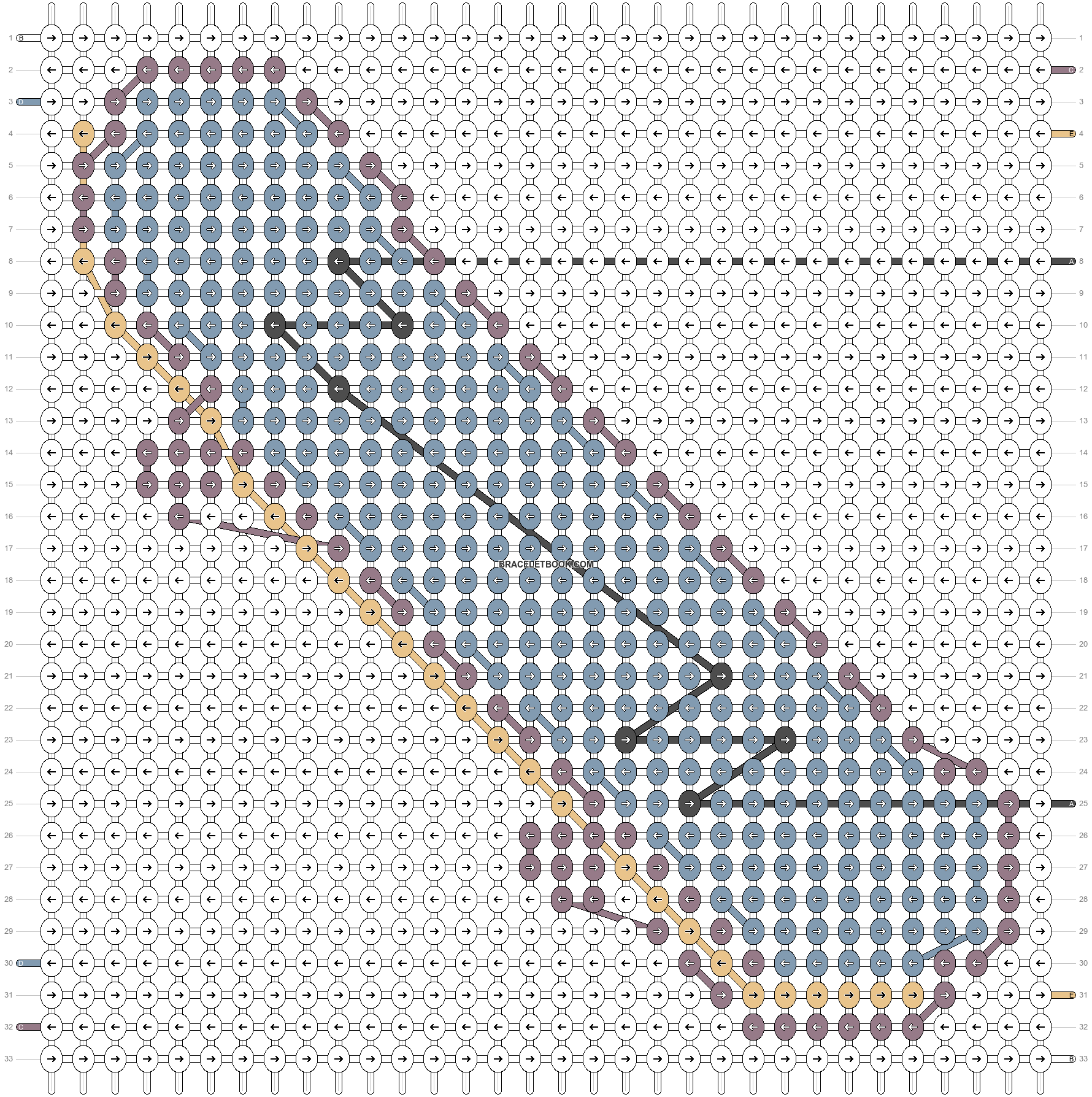Alpha pattern #86675 pattern