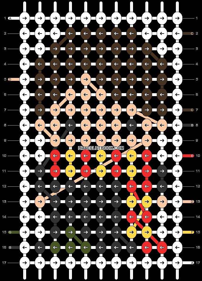 Alpha pattern #86712 pattern