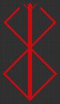 Alpha pattern #86715