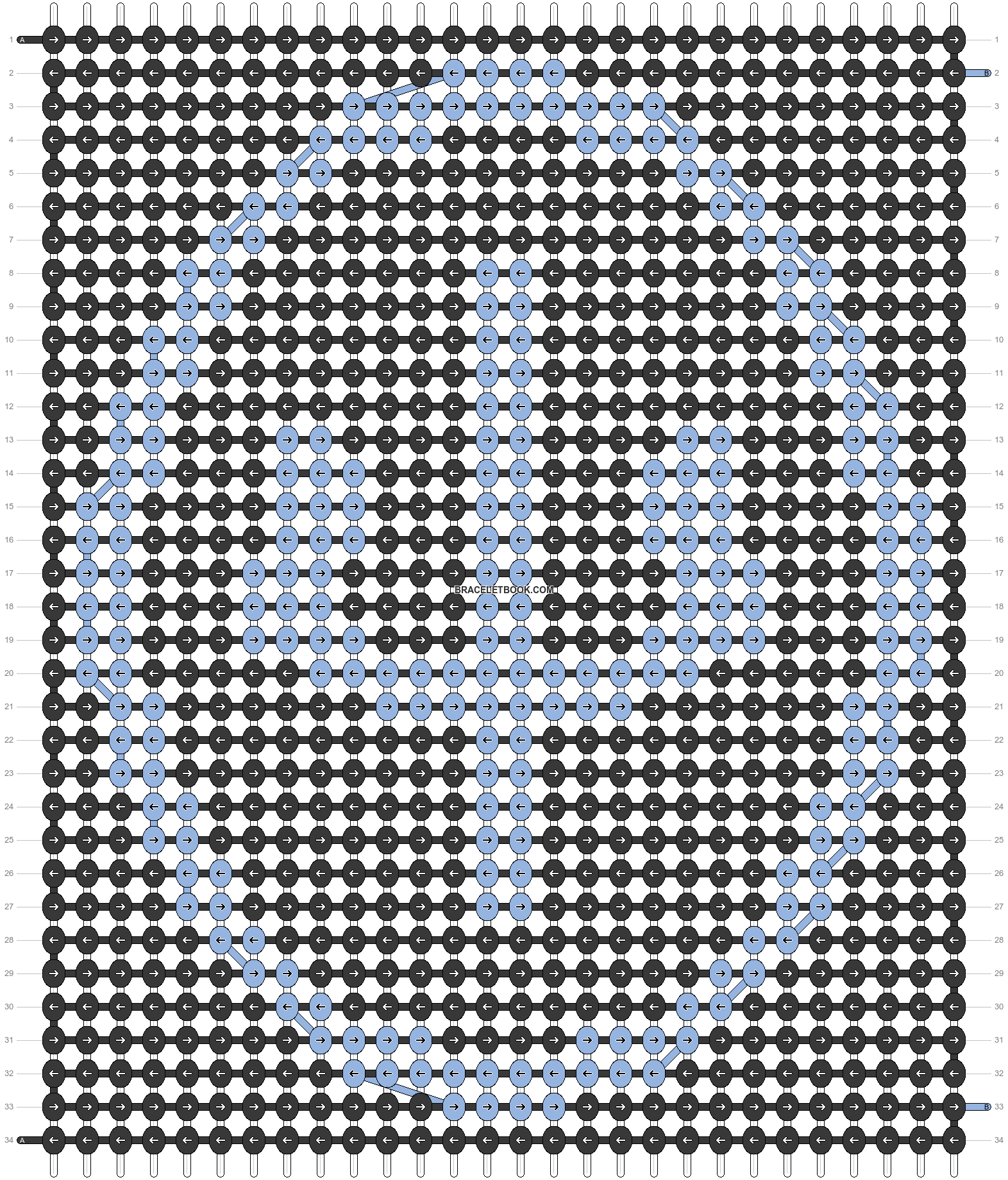 Alpha pattern #86719 pattern