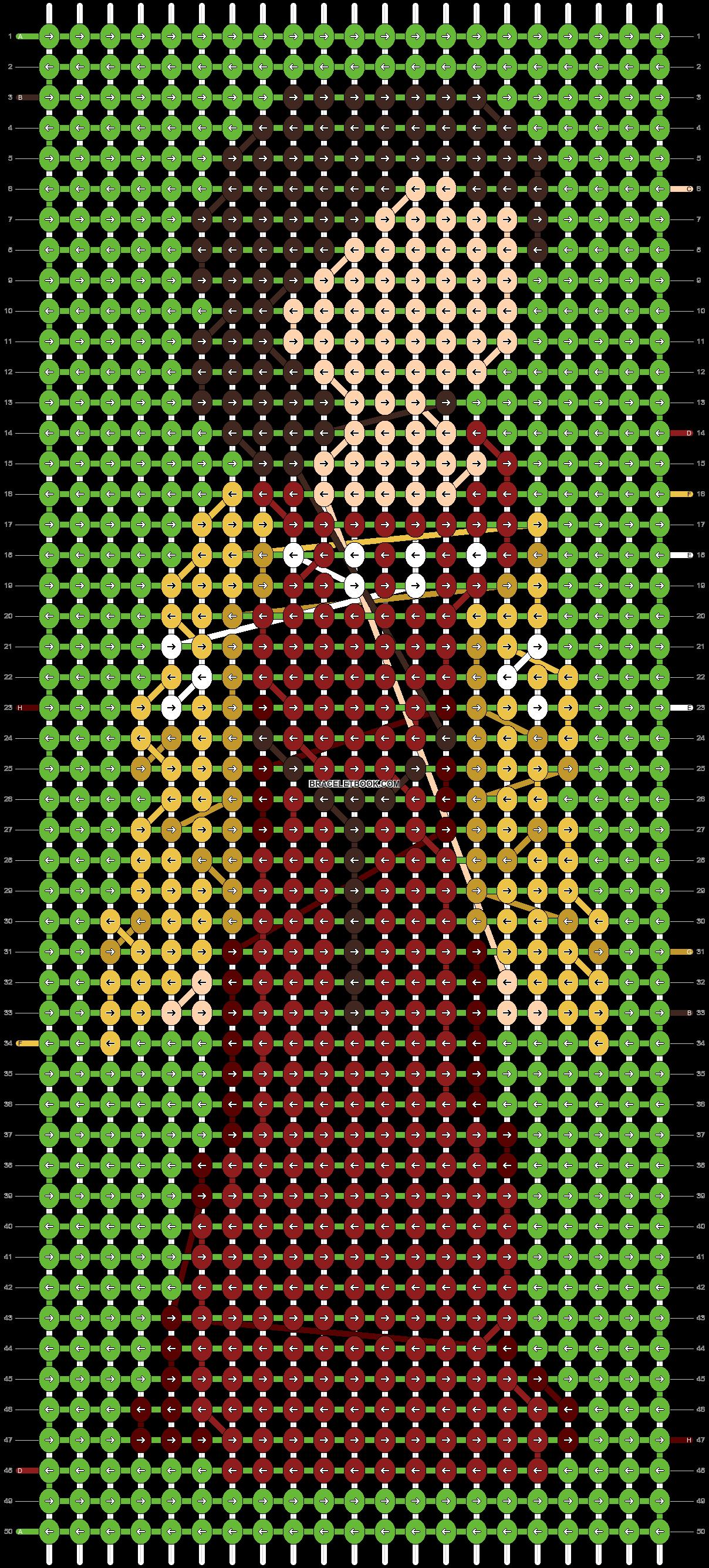 Alpha pattern #86724 pattern