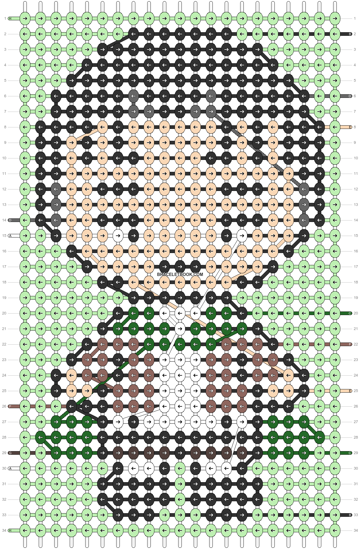 Alpha pattern #86727 pattern