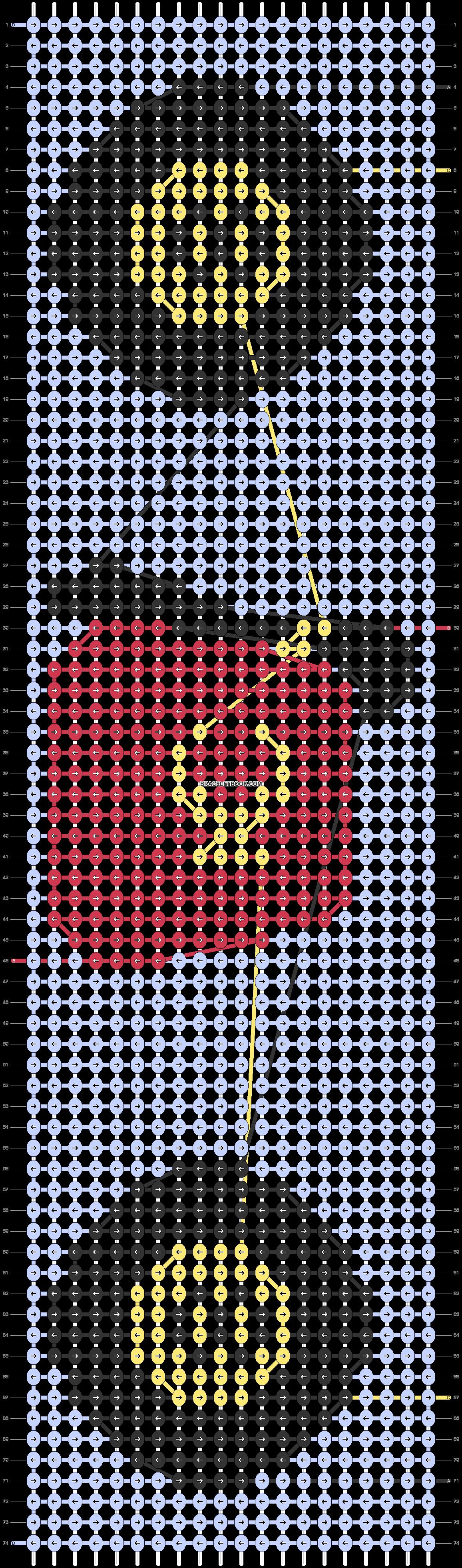 Alpha pattern #86731 pattern