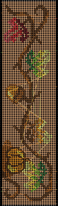 Alpha pattern #86733 pattern