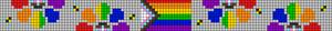 Alpha pattern #86740