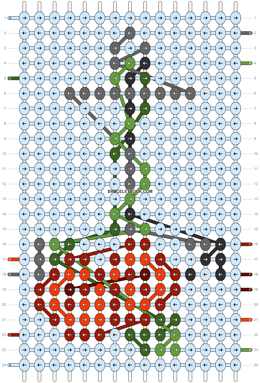 Alpha pattern #86791 pattern