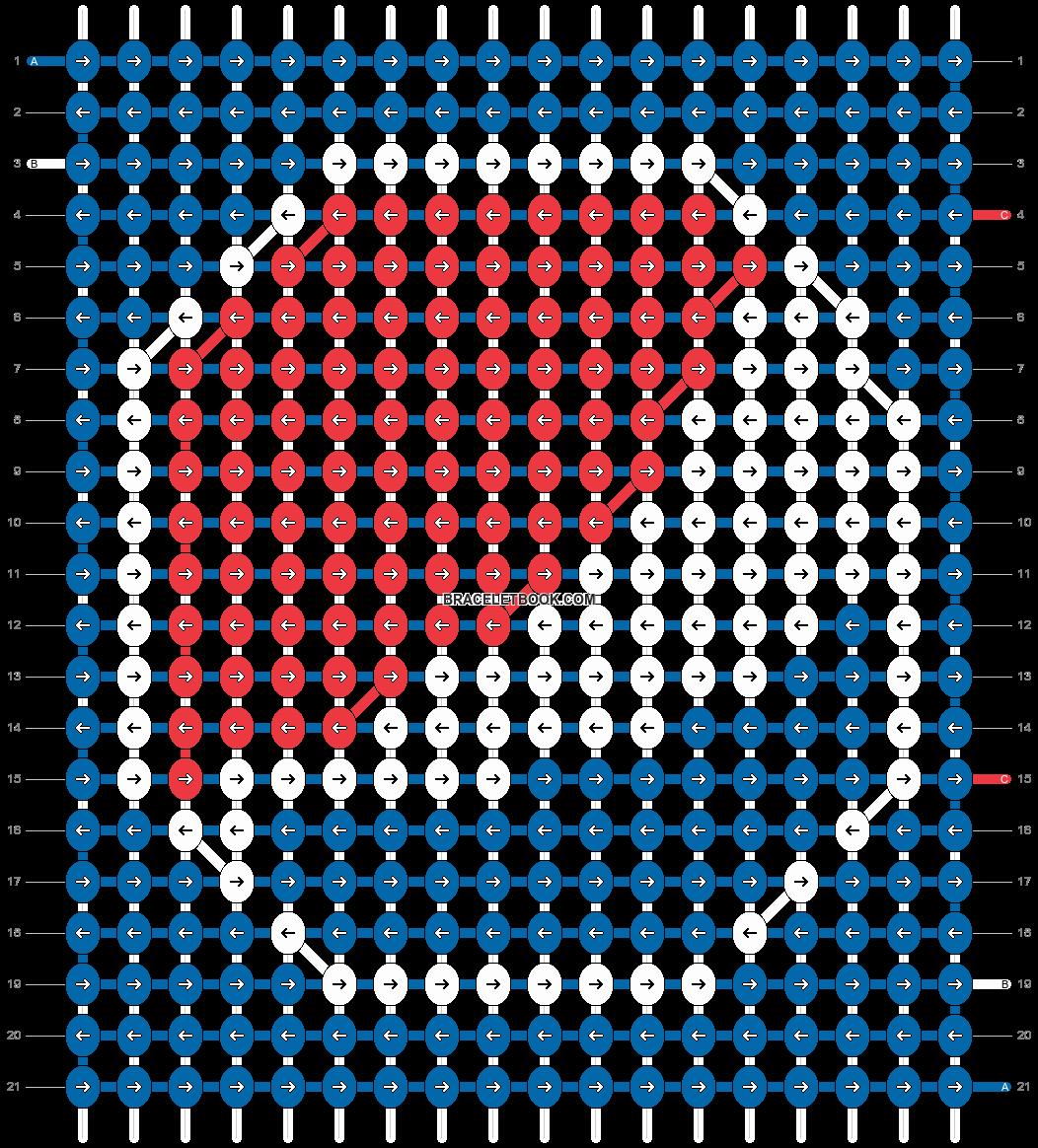 Alpha pattern #86795 pattern